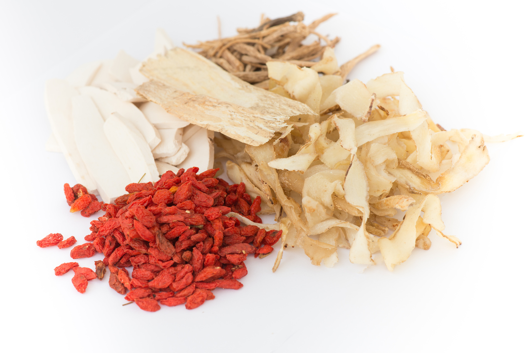 Dried fruit and root chinese herbal medicine