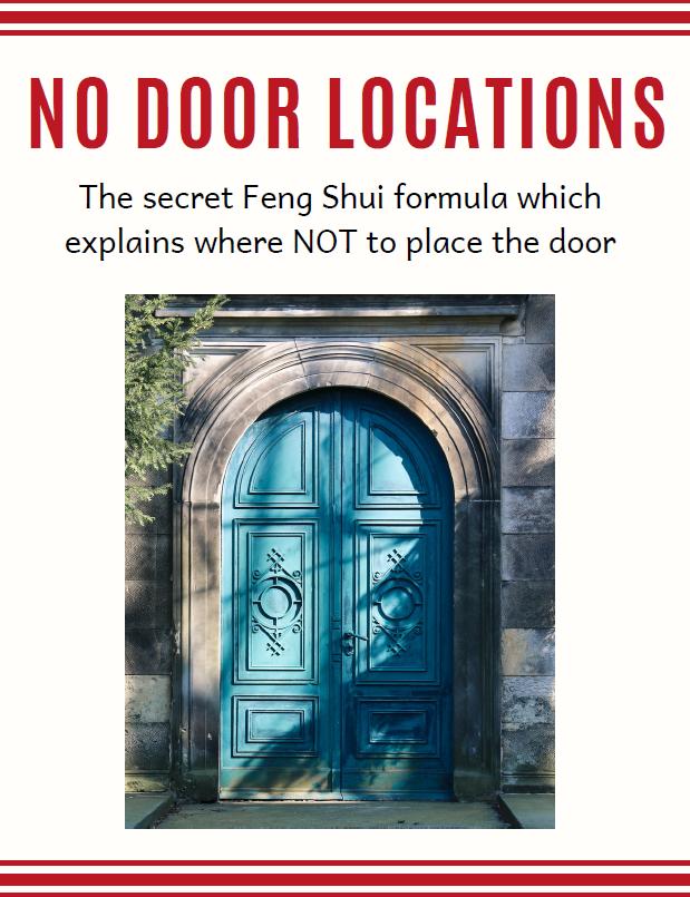 Althea Feng Shui NO-DOOR-LOCATIONS